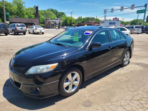2010 Toyota Camry for sale at Johnny's Motor Cars in Toledo OH