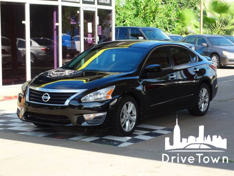 2013 Nissan Altima for sale at Drive Town in Houston TX