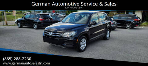 2012 Volkswagen Tiguan for sale at German Automotive Service & Sales in Knoxville TN