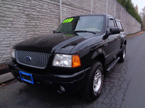 2001 Ford Ranger for sale at Matthews Motors LLC in Algona WA