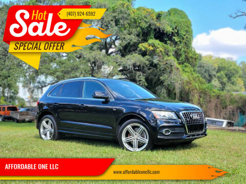 2010 Audi Q5 for sale at AFFORDABLE ONE LLC in Orlando FL