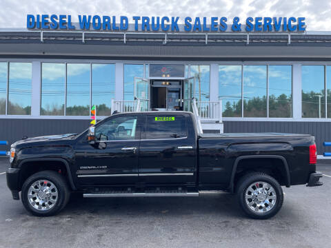 2019 GMC Sierra 2500HD for sale at Diesel World Truck Sales in Plaistow NH
