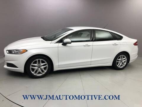 2013 Ford Fusion for sale at J & M Automotive in Naugatuck CT