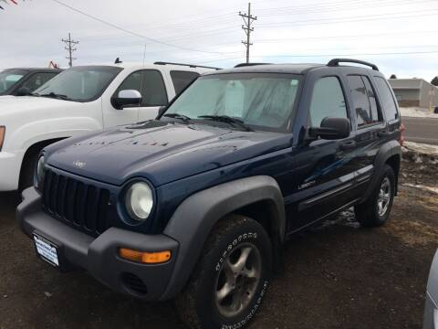 2004 Jeep Liberty for sale at BARNES AUTO SALES in Mandan ND