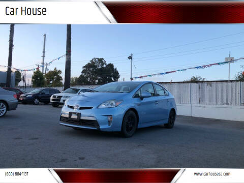 2015 Toyota Prius Plug-in Hybrid for sale at Car House in San Mateo CA