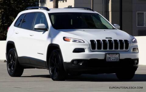 2018 Jeep Cherokee for sale at Euro Auto Sales in Santa Clara CA