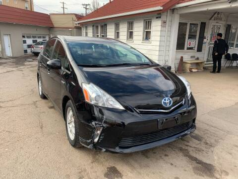 2013 Toyota Prius v for sale at STS Automotive in Denver CO