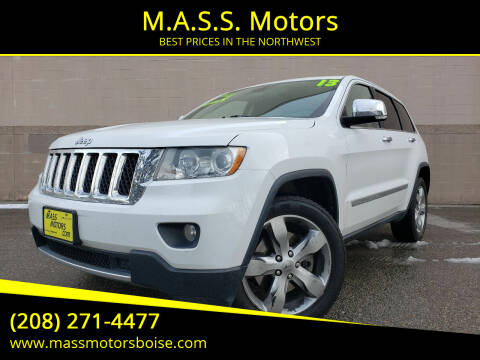 2013 Jeep Grand Cherokee for sale at M.A.S.S. Motors in Boise ID
