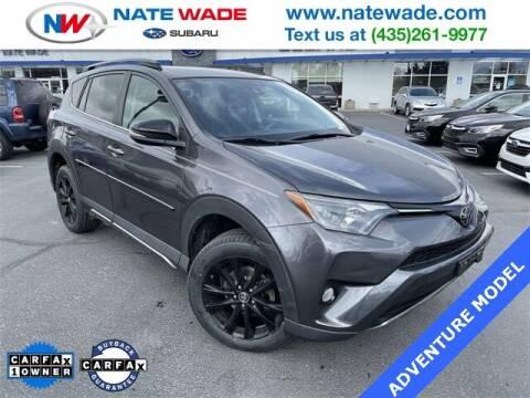 2018 Toyota RAV4 for sale at NATE WADE SUBARU in Salt Lake City UT