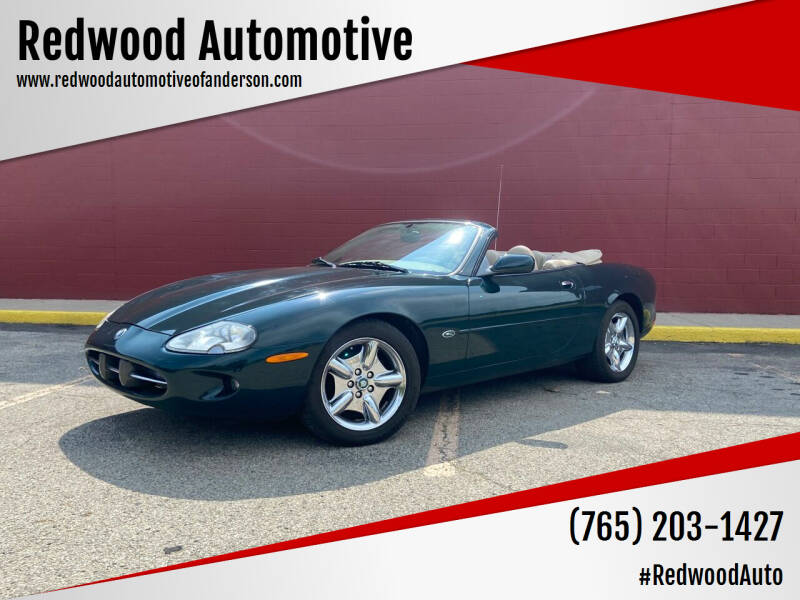 1998 Jaguar XK-Series for sale at Redwood Automotive in Anderson IN
