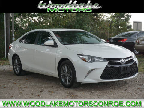 2016 Toyota Camry for sale at WOODLAKE MOTORS in Conroe TX