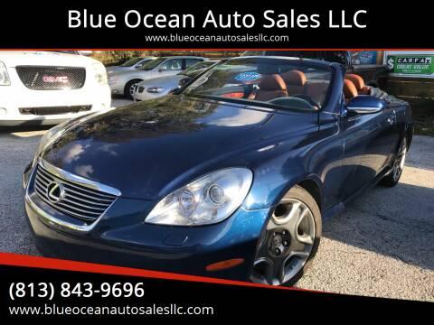 2006 Lexus SC 430 for sale at Blue Ocean Auto Sales LLC in Tampa FL
