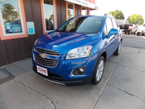 2015 Chevrolet Trax for sale at Autoland in Cedar Rapids IA