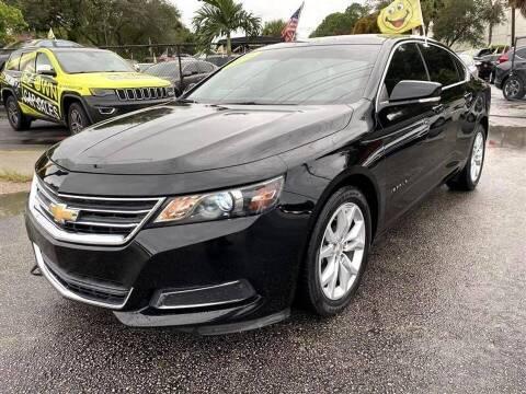 2016 Chevrolet Impala for sale at EZ Own Car Sales of Miami in Miami FL