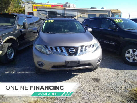 2010 Nissan Murano for sale at Marino's Auto Sales in Laurel DE
