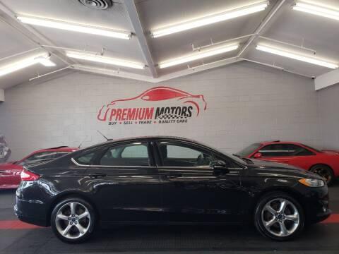 2014 Ford Fusion for sale at Premium Motors in Villa Park IL