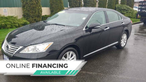 2011 Lexus ES 350 for sale at AUTOTRACK INC in Mount Vernon WA