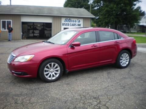 2012 Chrysler 200 for sale at Starrs Used Cars Inc in Barnesville OH