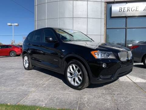 2014 BMW X3 for sale at Berge Auto in Orem UT