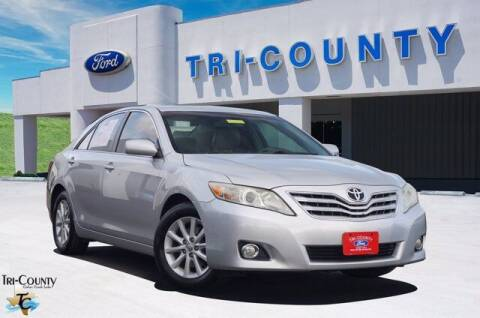 2010 Toyota Camry for sale at TRI-COUNTY FORD in Mabank TX