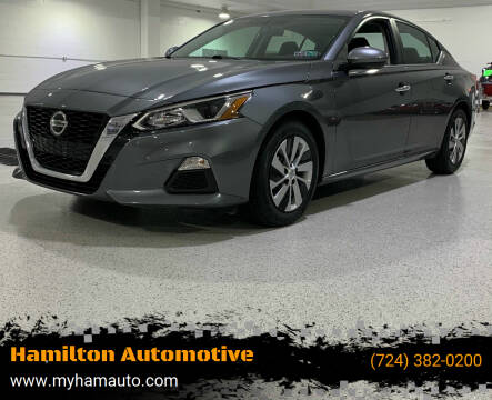 2019 Nissan Altima for sale at Hamilton Automotive in North Huntingdon PA