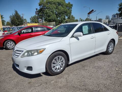 2010 Toyota Camry for sale at Larry's Auto Sales Inc. in Fresno CA