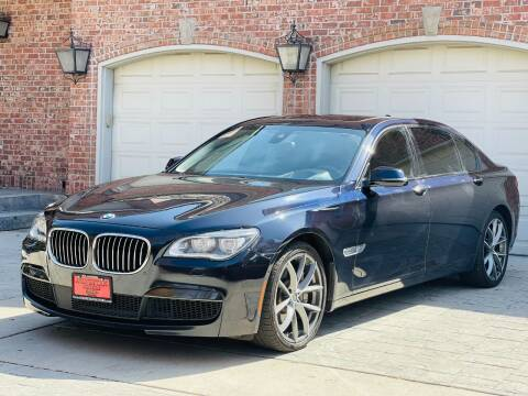 2015 BMW 7 Series for sale at Avanesyan Motors in Orem UT