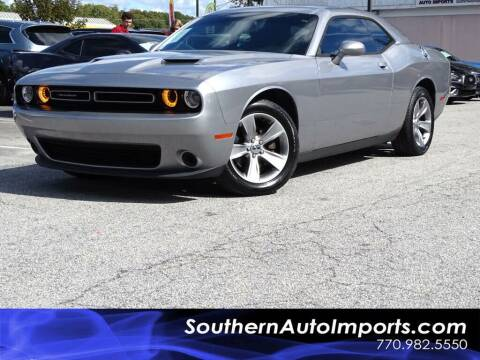 2016 Dodge Challenger for sale at Used Imports Auto - Southern Auto Imports in Stone Mountain GA