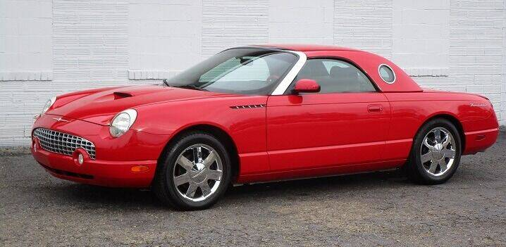 2002 Ford Thunderbird for sale at Kohmann Motors & Mowers in Minerva OH