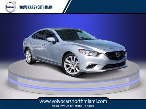 2017 Mazda MAZDA6 for sale at Volvo Cars North Miami in Miami FL
