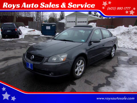 2006 Nissan Altima for sale at Roys Auto Sales & Service in Hudson NH