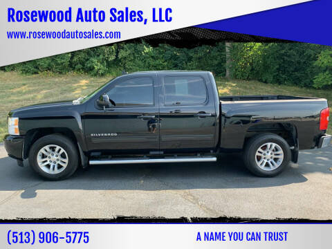 2012 Chevrolet Silverado 1500 for sale at Rosewood Auto Sales, LLC in Hamilton OH