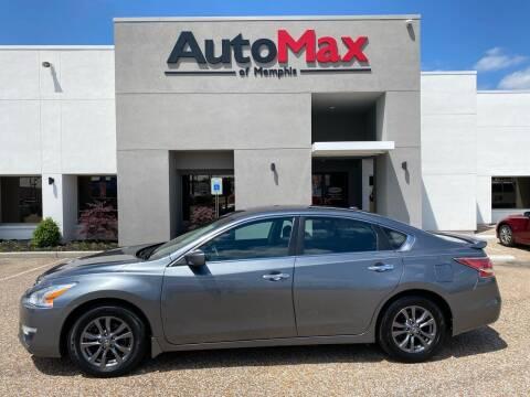 2015 Nissan Altima for sale at AutoMax of Memphis - Alex Vivas in Memphis TN