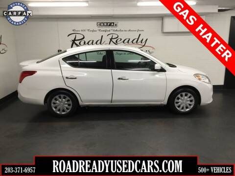 2013 Nissan Versa for sale at Road Ready Used Cars in Ansonia CT