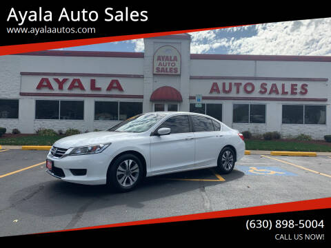 2013 Honda Accord for sale at Ayala Auto Sales in Aurora IL