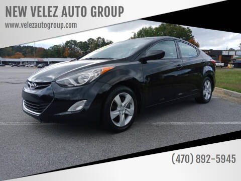 2012 Hyundai Elantra for sale at NEW VELEZ AUTO GROUP in Gainesville GA