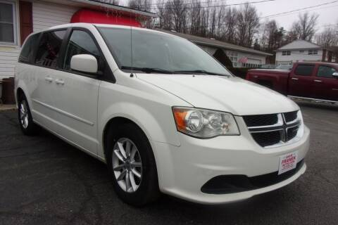 2013 Dodge Grand Caravan for sale at Dave Franek Automotive in Wantage NJ