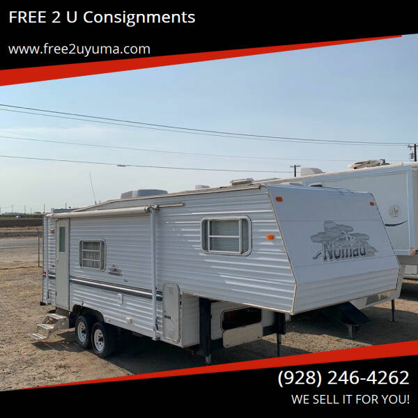 2000 Nomad 245 LF for sale at FREE 2 U Consignments in Yuma AZ