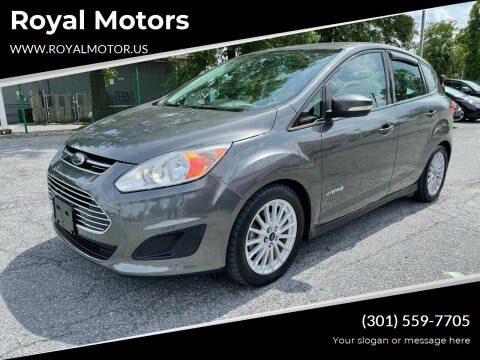 2016 Ford C-MAX Hybrid for sale at Royal Motors in Hyattsville MD