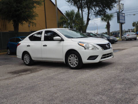 2016 Nissan Versa for sale at Winter Park Auto Mall in Orlando FL