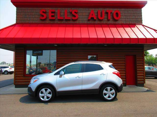 2015 Buick Encore for sale at Sells Auto INC in Saint Cloud MN