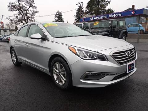 2015 Hyundai Sonata for sale at All American Motors in Tacoma WA