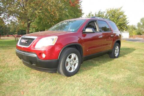 2010 GMC Acadia for sale at New Hope Auto Sales in New Hope PA