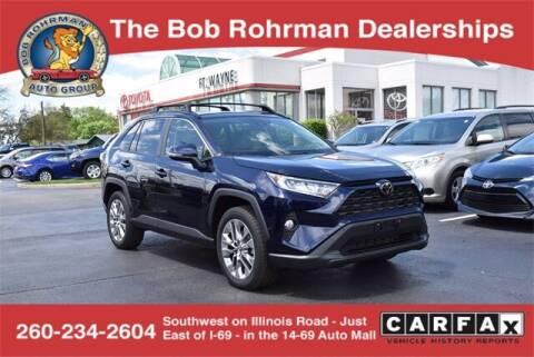 2019 Toyota RAV4 for sale at BOB ROHRMAN FORT WAYNE TOYOTA in Fort Wayne IN