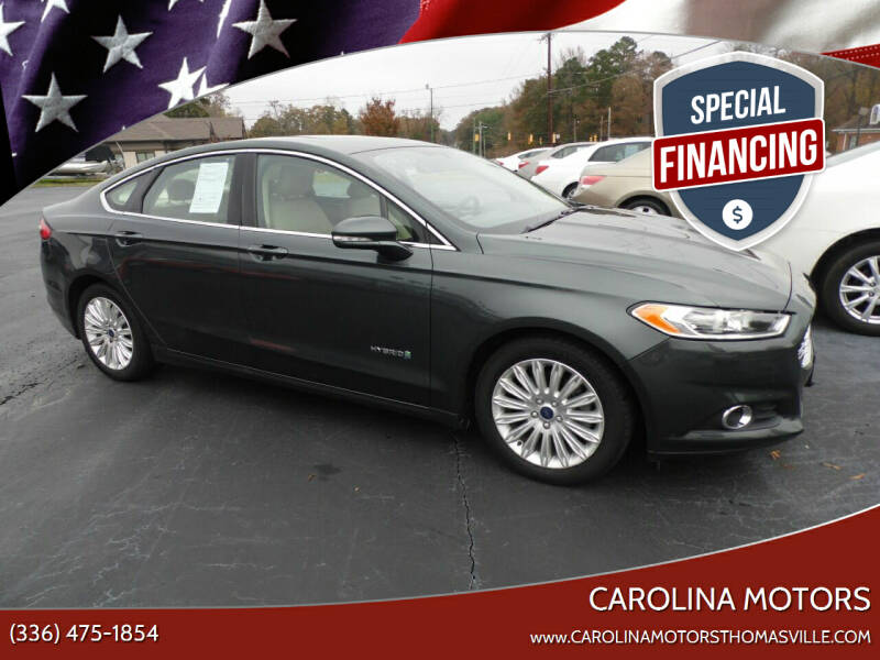 2016 Ford Fusion Hybrid for sale at CAROLINA MOTORS in Thomasville NC