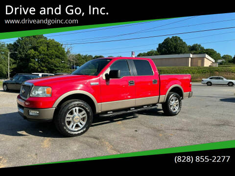 2005 Ford F-150 for sale at Drive and Go, Inc. in Hickory NC