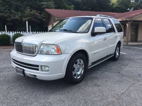 2005 Lincoln Navigator for sale at ATLANTA AUTO WAY in Duluth GA