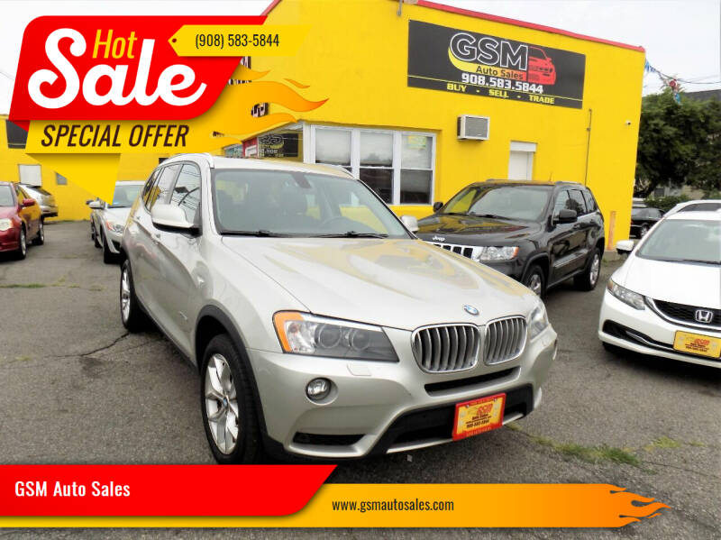 2013 BMW X3 for sale at GSM Auto Sales in Linden NJ