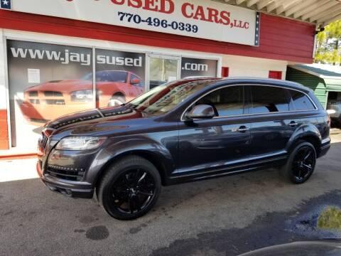 2012 Audi Q7 for sale at Jays Used Car LLC in Tucker GA