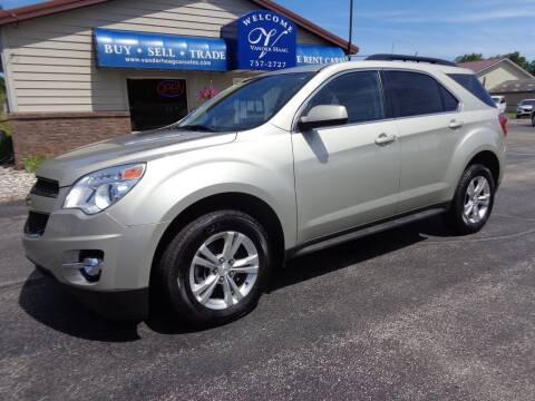 2013 Chevrolet Equinox for sale at VanderHaag Car Sales LLC in Scottville MI